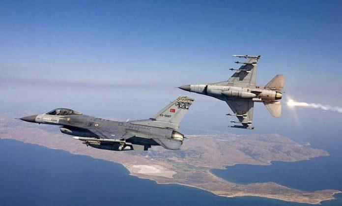 Τουρκικά Μαχητικά Υπερπτήσεις