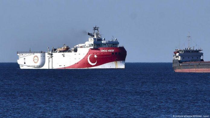 Oruc Reis Σειρά τουρκικών προκλήσεων