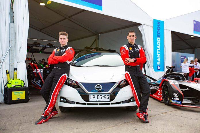 Nissan Leaf for formula e