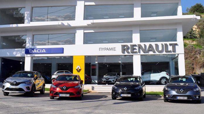 Renault Πυραμις επε