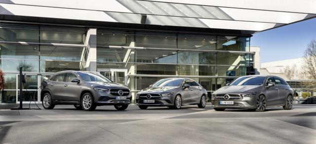 Mercedes-Benz GLΑ250e & CLA250e